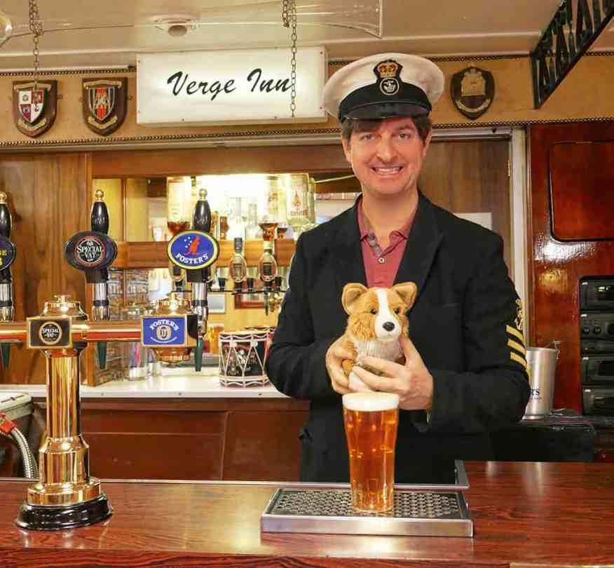 Royal Yacht Britannia bar