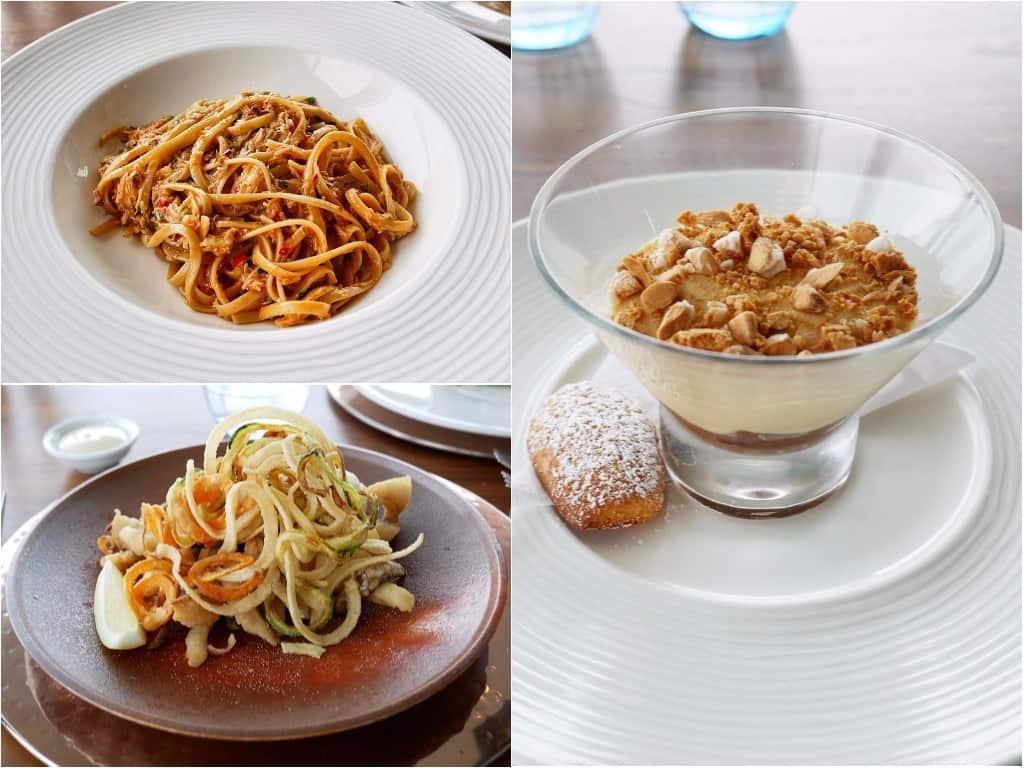 Seafood Ristorante dishes