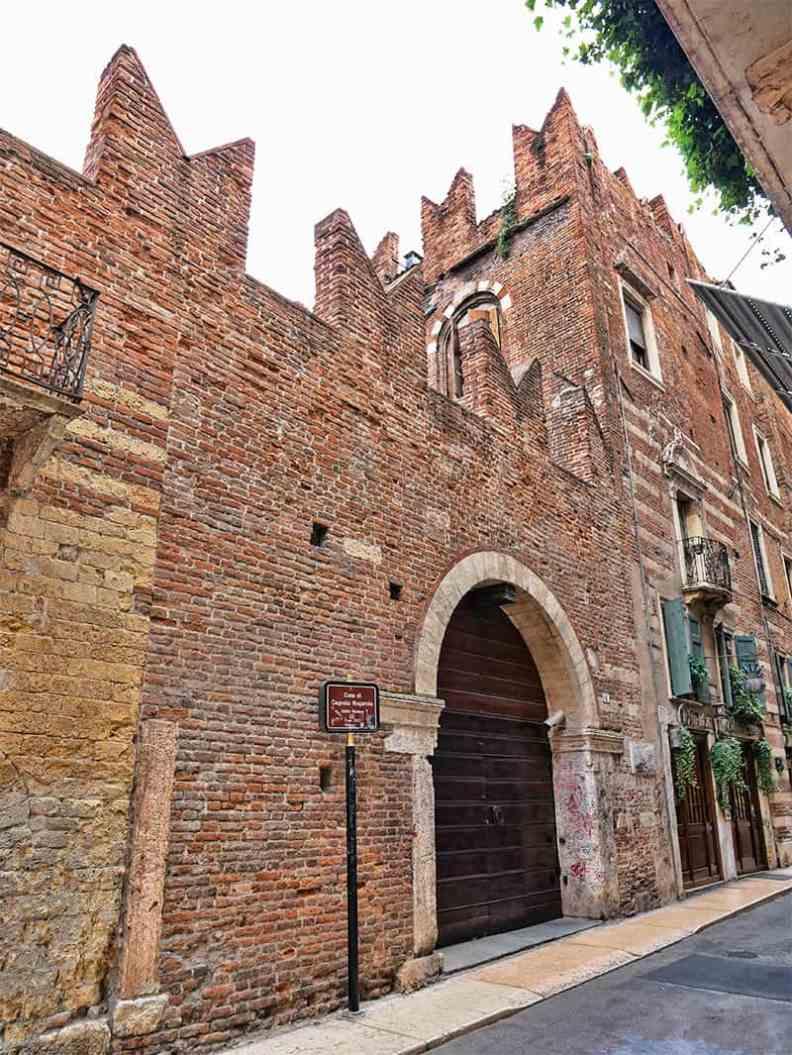 Romeo's House in Verona, Italy