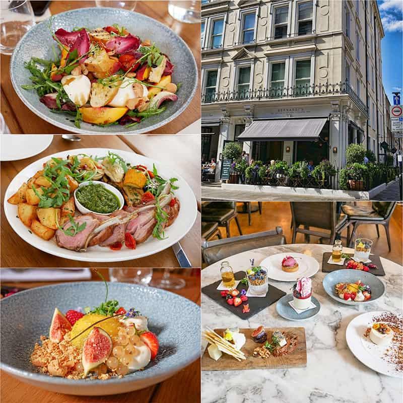 Bernardis Marylebone London - a lovely all-day restaurant