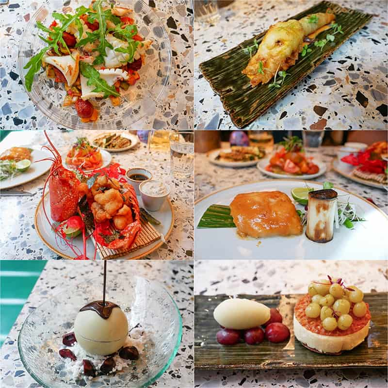 Fabulous modern European cooking at Bronte restaurant on the Strand in London UK