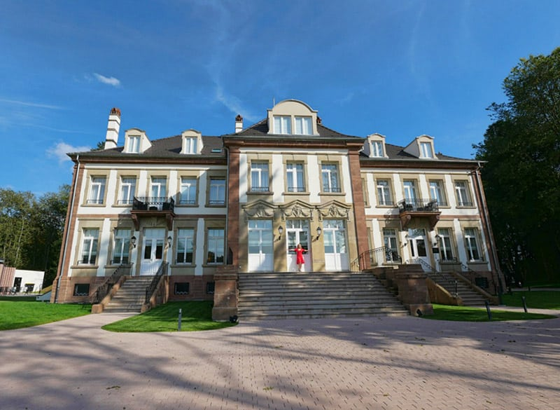 Chateau Hochberg, Bas-Rhin, France