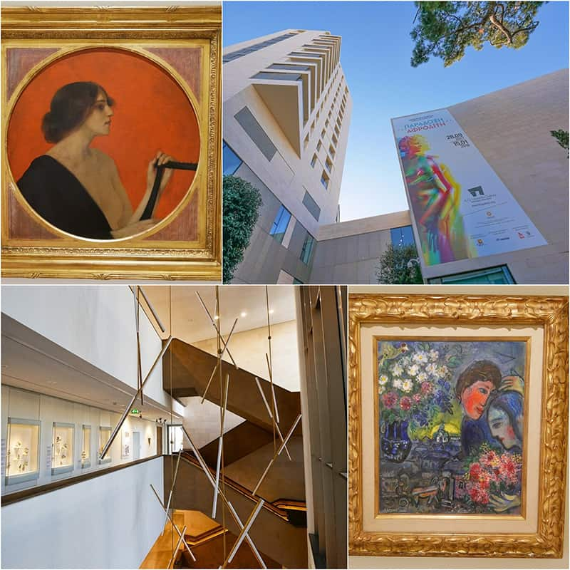 AG Leventis Gallery in Nicosia Cyprus - one of the best art museums in Cyprus