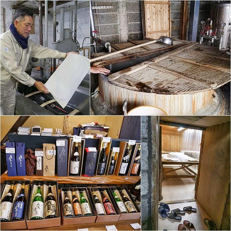 Hamashima Shuzo sake brewery