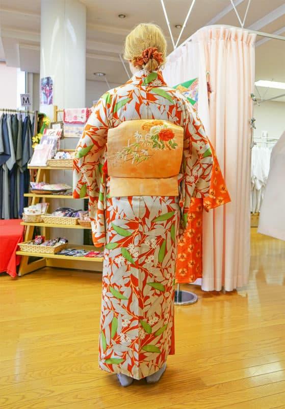 Kimono rental in Kitsuki Castle Town