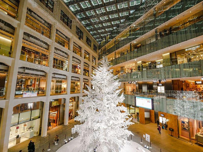 Kitte shopping mall in Tokyo, Japan
