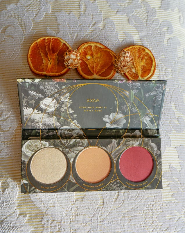 The Zoeva blusher palette - a luxurious beauty gift