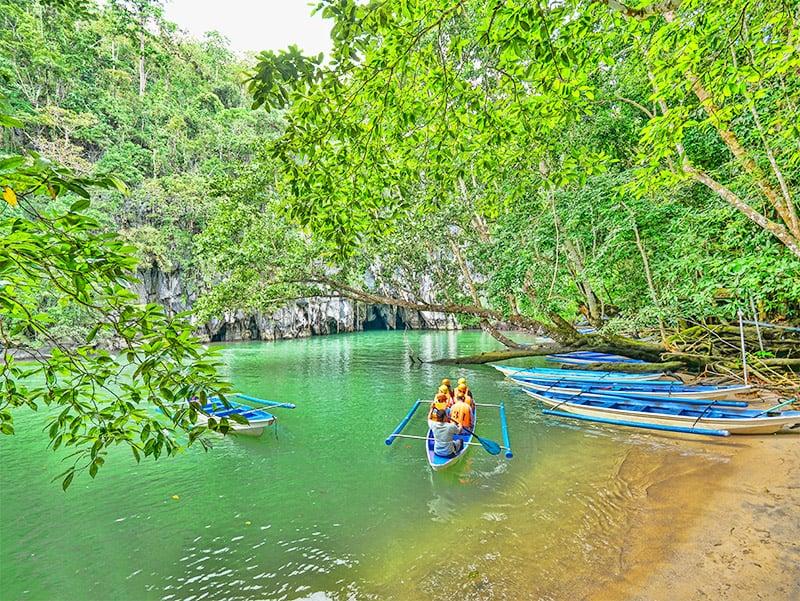 Palawan Underground River & Sabang Beach – Natural Wonders of the Philippines