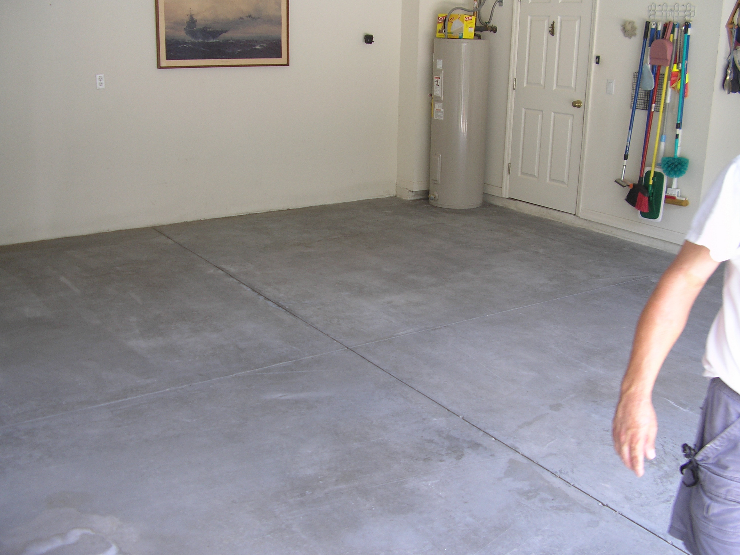 Acid Stained Concrete Floors  Countertops  Dunlap Garage