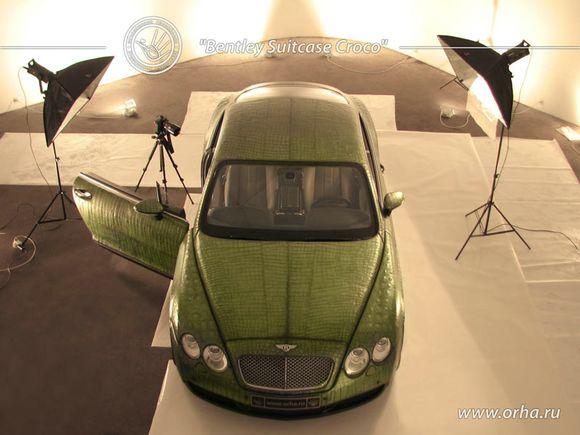 Bentley Suitcase Croco