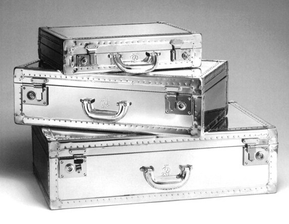 Dunhill Aluminum Luggage Collection
