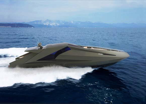 Lamborghini Yacht Concept