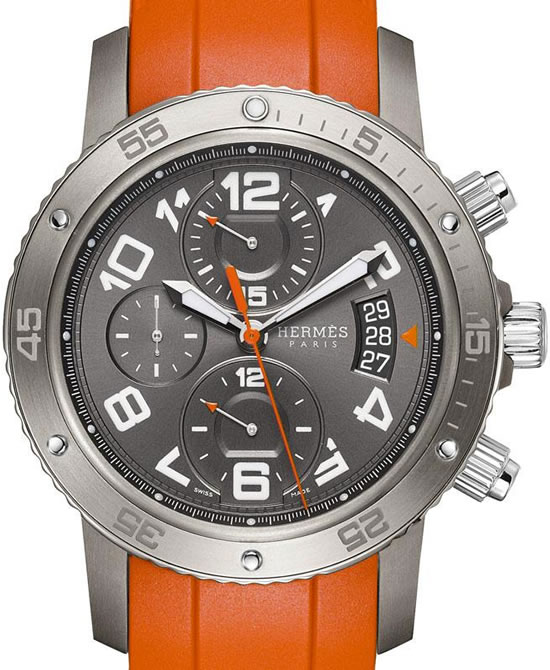 Hermes Clipper Automatic Chronograph1