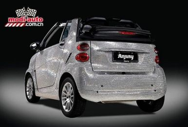 Smart Covered in Swarovski Crystals by Anjuny3