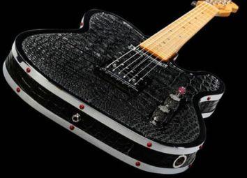Rock-Royalty-alligator-diamond-guitar-2