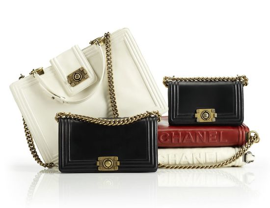 Chanel Launches New Boy Bag Collection