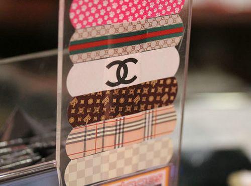 Designer Labeled Band-Aids
