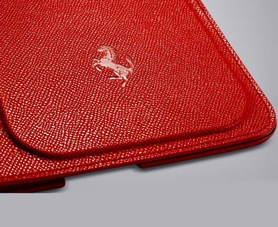 Red Ferrari iPad 2 Case by Tod's