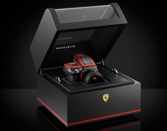 Ferrari x Hasselblad H4D-40 Limited Edition Camera