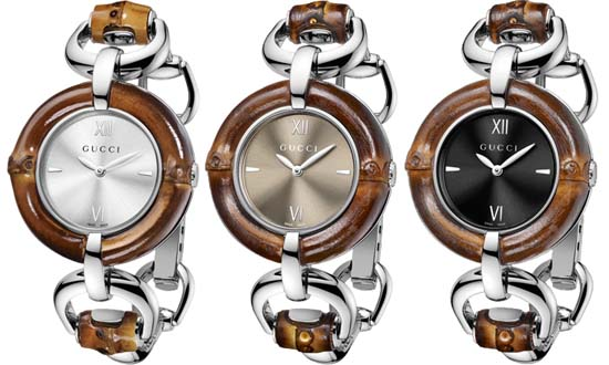 Gucci Watches Bamboo Collection