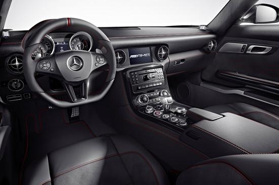 Mercedes Benz SLS AMG GT interior