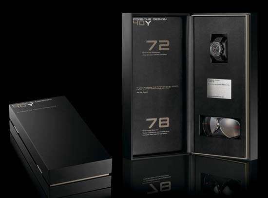 Porsche Design Unveils Collector's Box for 40th Anniversary
