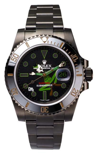 RolexBeetleBaileySubmarinerDRX