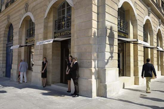 LVMH Opens Louis Vuitton Jewelry Store in Paris