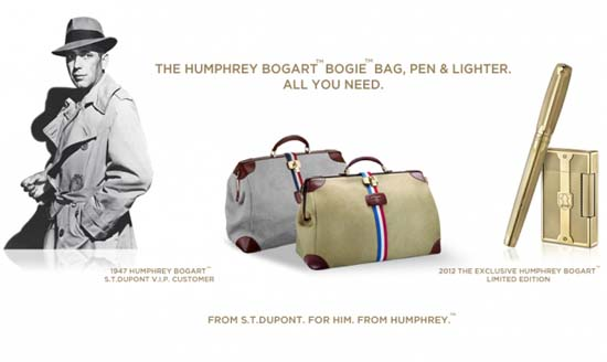 S.T. Dupont Pays Tribute to Audrey Hepburn and Humphrey Bogart
