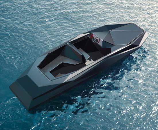 Z Boat Designed By Zaha Hadid Luxuryes