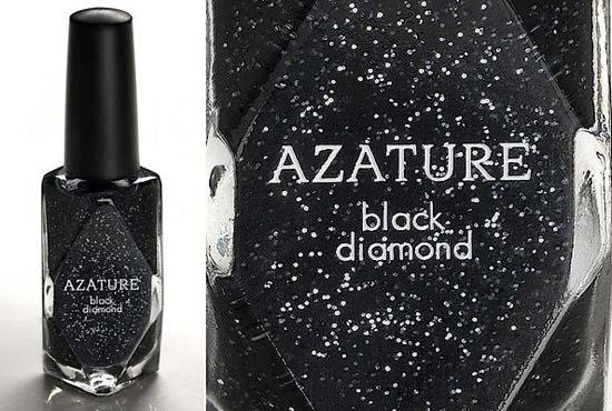 Most Expensive Nail Polish $250000 Black Diamond Azature