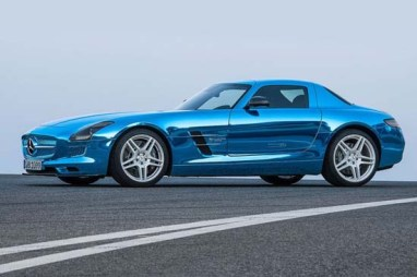 Mercedes SLS AMG Coupe Electric Drive2
