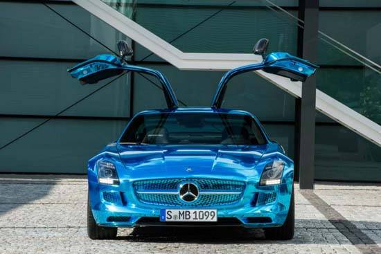 Mercedes SLS AMG Coupe Electric Drive5
