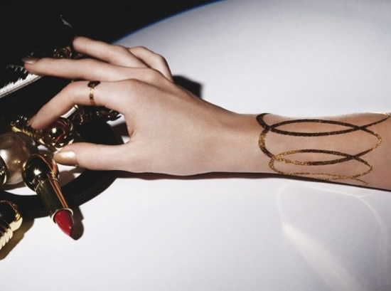 dior-24K-gold-tatoo-4