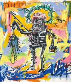 $26.4 million - Jean-Michel Basquiat, Untitled, 1981