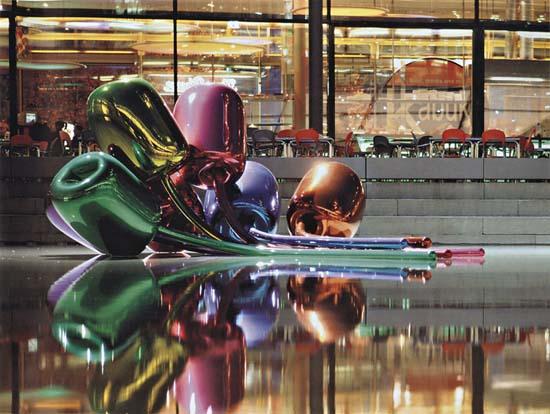 Jeff Koons, Tulips, 1995–2004
