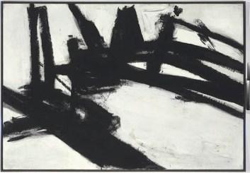 $40.4 million - Franz Kline, Untitled, 1957