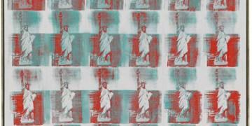 ndy Warhol, Statue of Liberty, 1962