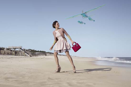 Marion Cotillard Returns for Lady Dior Campaign