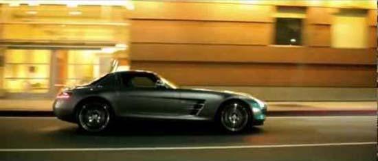 Short Film: Mercedes-Benz SLS AMG – Desire
