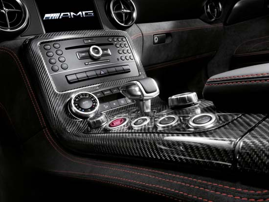 SLS AMG Black Series interior