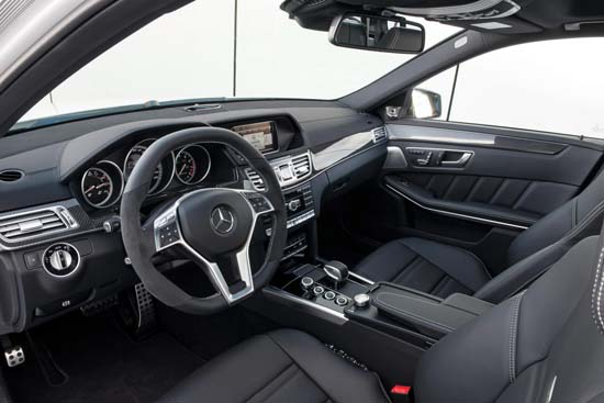 2014 Mercedes E63 AMG 4MATIC Officially Unveiled