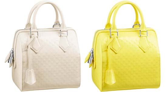 Damier-Facette-Speedy-Cube-PM-Creme-and-Yellow