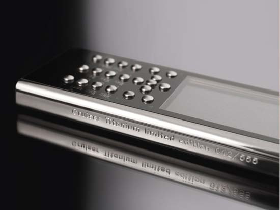 Gresso Unveils Cruiser Titanium Phone, Priced at $2,500