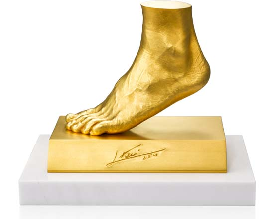 Lionel Messi's Golden Foot On Sale for $5.25 Million in Japan