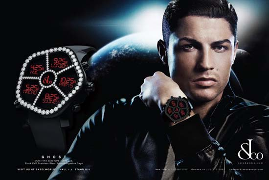 Cristiano Ronaldo is the new face of Jacob & Co.