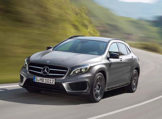 2015 Mercedes-Benz GLA Revealed