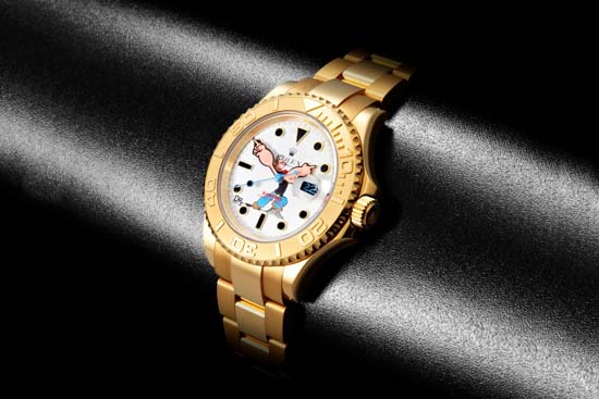 bamford-dr-romanelli-rolex-yachtmaster-gold-4
