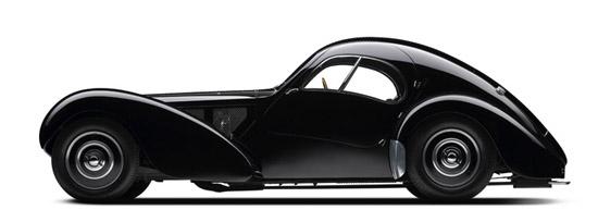 1938 Type 57SC Bugatti Atlantic Coupe
