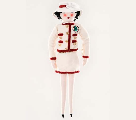 Chanel doll for UNICEF
